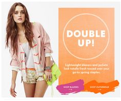 nasty gal double up email