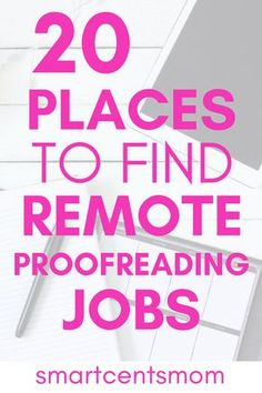 Work from home proofreading books