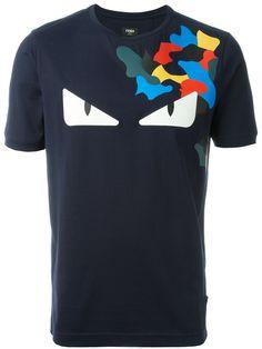 Shop Fendi Bag Bugs T-shirt Fendi Bag Bugs, How To Make Fire, Shirt Jacket, T Shirt, Cool Shirts, Shirt Style, Messenger Bag, Mens Fashion, Mens Tops