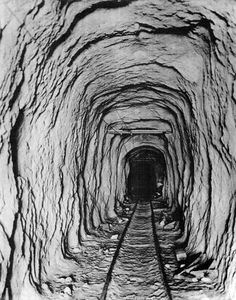 San Fernando Tunnel - Newhall Pass. Construction of the tunnel began on March 22, 1875 and it was completed on July 14, 1876. Hundreds of Chinese laborers worked on the tunnel. The tunnel was considered a great engineering achievement at the time and it was important because it connected Northern and Southern California by rail. West Valley Museum. San Fernando Valley History Digital Library. California History, Southern California, San Fernando Valley, July 14, Old West, Old Photos, 1920s, Roots, The Past