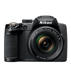 Nikon Coolpix P500 12.1mp CMOS Digital Camera with 36x Zoom and Full HD 1080p Video