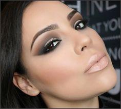 Makeup #smokeyeye #nudelips