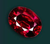 """""""The gleaming Ruby should adorn,  All those who in July are born,  For thus they'll be exempt and free,  From lover's doubts and anxiety."""" The Ruby is associated with devotion, integrity, courage and happiness. The Metaphysical Properties are  vitality, confidence and strength. The healing properties may be effective for health problems relating to the blood and infection and increasing positive thought patterns. It is also used to enhance energy, generosity and bring prosperity and success."""