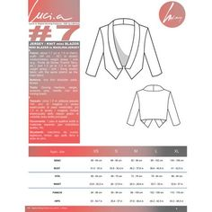 PDF Pattern Women's Knit / Jersey / Ponte de Roma / French