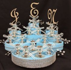 Mis Quince Sweet Fifteen 15 or Sweet 16 Candle Holder Velas Rhinestone letters Quinceanera Planning, Quinceanera Decorations, Quinceanera Ideas, Quinceanera Dresses, Sweet 16 Decorations, Decoration Party, 17th Birthday Gifts, Birthday Ideas, Sweet 16 Candles
