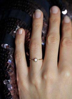 Idea de anillos de compromiso