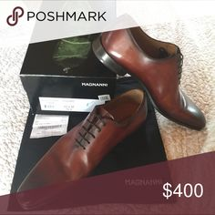 💫one day sale💫Magnanni men's Bought @ Nordstoms for $460. Worn one evening only. A few small scuffs as shown in 3rd pic. Have not attempted to buff or polish. Will consider scuffs when negotiating. Please make an offer that you think is fair ☺️.                           **mentioning Gucci Prada Cole Haan Salvatore Ferragamo Santoni ** for views** Magnanni Shoes Loafers & Slip-Ons