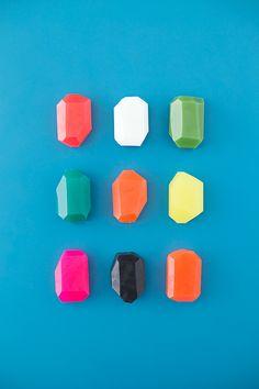 DIY: soap gems