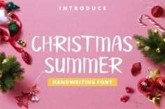 Christmas Summer is organic handwritten font. This font will make your designs look natural, authentic, and amazing. Christmas Summer is...