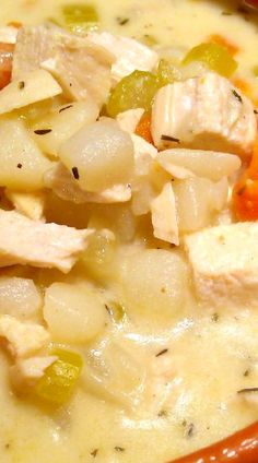 Creamy Chicken & Potato Soup