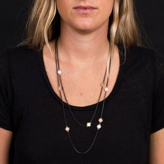 Lori Leven - Three and Five Star Necklaces Designer Jewelry, Jewelry Design, Star Necklace, Pendant Necklace, Five Star, Necklaces, Chain, Stars, How To Wear