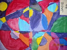 Robert Delaunay Abstract Painting   Mrs. Auvermann's Art Class