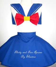 Awesome Sailor Moon costume!  http://www.etsy.com/listing/156217509/inspired-cosplay-sailor-moon-costume