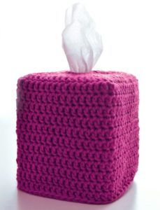 Crochet Spot » Blog Archive » Crochet Pattern: Classic Square Tissue Box Cover - Crochet Patterns, Tutorials and News
