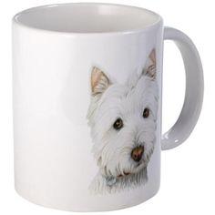 Westie Dog Small Mug on CafePress.com