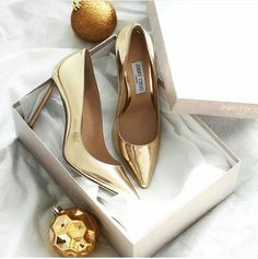 From our iconic pump to designer boots, browse the latest Jimmy Choo shoe collection today. Shop for designer shoes now. Stilettos, Stiletto Heels, High Heels, Cute Shoes, Me Too Shoes, Dressy Shoes, Looks Pinterest, Golden Shoes, Shoe Boots