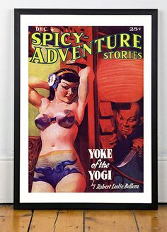 Spicy Adventure Stories, 30s