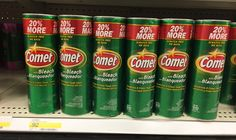 Save on Comet Powder Cleanser at Target! Use a 30% off Cartwheel offer and one...