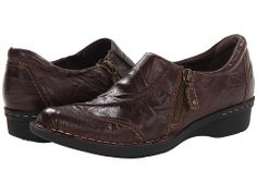 Clarks Whistle Max Dark Brown Leather - Zappos.com Free Shipping BOTH Ways