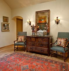 Spanish Colonial Interior Design Style Residence By Interiors Spanish Colonial Style Interior Design Spanish Colonial Decor, Estilo Colonial, Spanish Style Decor, Spanish Interior, Spanish Style Homes, Spanish Revival, Spanish Style Interiors, Design Entrée, House Design