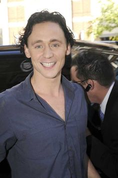 Tom Hiddleston around town during the Toronto International Film Festival signing autographs for fans on September 11, 2011
