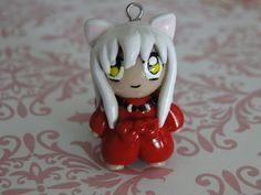Inuyasha Polymer Clay by sanxcharms.deviantart.com on @DeviantArt