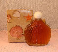 Vintage Avon Shell Cologne Bottle -have a different shell Avon bottle-held SSS body oil