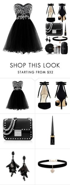 """Untitled #556"" by lizsatt ❤ liked on Polyvore featuring Nine West, MICHAEL Michael Kors, Christian Louboutin, Oscar de la Renta, Betsey Johnson and Chanel"