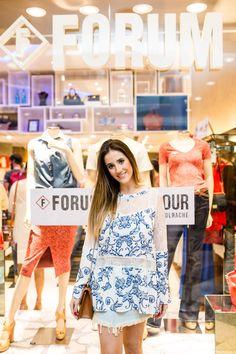 Forum Fashion Tour! Com Luiza Guimarães e sua escolha de look Forum da Primavera/ Verão 2016. Foto by Bárbara Dutra