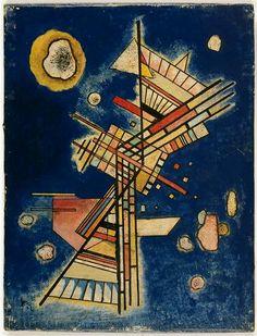 Dark freshness, 1927, Wassily Kandinsky, Musée National d'Art Moderne, Centre Georges Pompidou, Paris, France