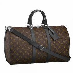 Louis Vuitton Men Shoulder Bag | Louis Vuitton Mens Travel Bags Keepall 45 With Shoulder Strap M56711 ...