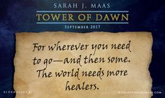Yrene Towers still has the note given to her by that mysterious stranger that allowed her to go to the Southern Continent! You'll get lots of Yrene in TOWER OF DAWN- don't forget to preorder your copy...