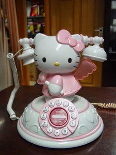 hello kitty telephone ☎️