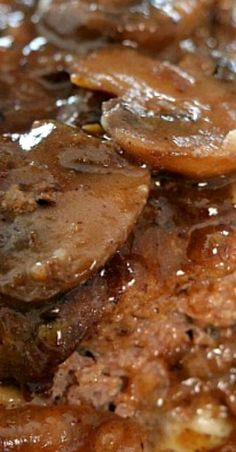 Salisbury Steak in Mushroom Onion Gravy - Great Grub, Delicious Treats Whole30 Recipes Lunch, Snack Recipes, Cooking Recipes, Healthy Recipes, Chicken Parmesan Recipes, Chicken Soup Recipes, Southern Recipes, Southern Food, Southern Comfort