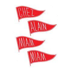 Ilk — Logo for Alain Miam Miam