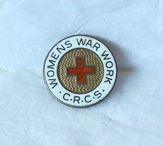 WWII Canadian Red Cross Women's War Work by MargsMostlyVintage, $21.00