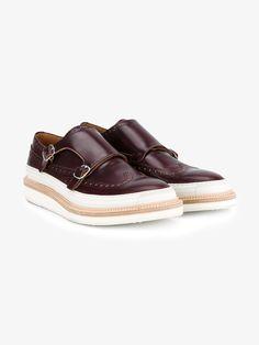 The Best Men's Shoes And Footwear : Weber Hodel Feder 'Herald' monk shoes -Read More – Boat Shoes, Men's Shoes, Shoe Boots, Male Shoes, Formal Shoes, Casual Shoes, Splendid Shoes, Mens Fashion Wear, Mens Designer Shoes