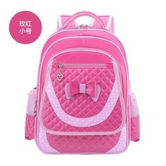 Lovely New Primary School Backpacks Kids Children School Bags For Girls PU Leather Waterproof Backpack For Grades 1-3-6