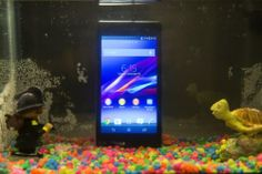Sony's new Xperia Z1S smartphone can withstand being in 4.5 feet of water for 30 minutes
