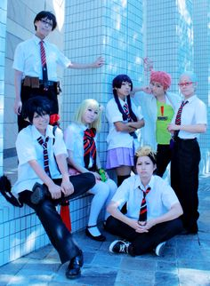 Blue exorcist cosplay :D