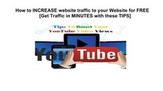 How to INCREASE website traffic to your Website for /FREE Get Traffic in...