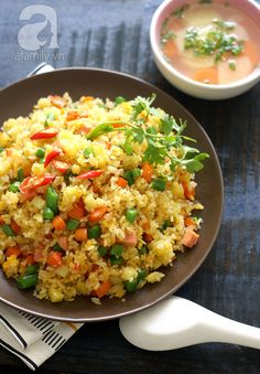 Food Network Recipes, Real Food Recipes, Cooking Recipes, Yummy Food, Best Rice Recipe, Helathy Food, Veggie Rolls, Cambodian Food, Home Meals