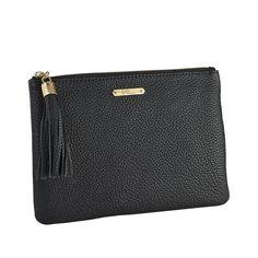 #Bag, #Clutch, #Gigi, #GigiNewYork, #Handbag, #Leather, #Monogram, #Oba, #Personalize, #Tim - Black All in One Bag - Pebble Grain