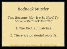 I'm a sometimes redneck and I find this funny.gotta laugh:p You Funny, Funny Jokes, Funny Stuff, Funny Things, It's Funny, Random Things, Hilarious Quotes, Random Thoughts, Frases