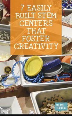 Easily Built STEM Centers