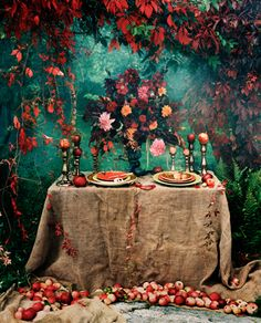 Colour palette ideas; rich & sumptuous. Photography by Denise Grünstein