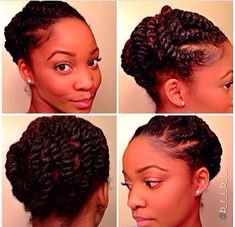 A Cute Protective Style? – 18 Flat Twist Updo Styles You Should Try [Gallery] Need A Cute Protective Style? - 18 Flat Twist Updo Styles You Should Try [Gallery]Need A Cute Protective Style? - 18 Flat Twist Updo Styles You Should Try [Gallery] My Hairstyle, Twist Hairstyles, Protective Hairstyles, Cool Hairstyles, Black Hairstyles, Protective Styles, Female Hairstyles, Dreadlock Hairstyles, Medium Hairstyles
