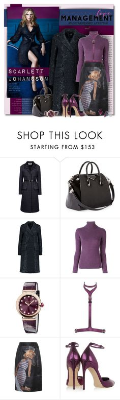 """Try Something A Little Different"" by petri5 ❤ liked on Polyvore featuring Nina Ricci, Givenchy, Diane Von Furstenberg, Not Shy, Bulgari, Giuseppe Zanotti, Prada and Brian Atwood"