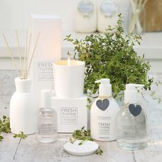 Fresh Thyme Candle | The White Company