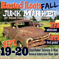 Rusted Roots Fall Junk Market
